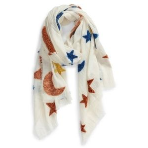 Madewell Starry Night Chenille Scarf NWT